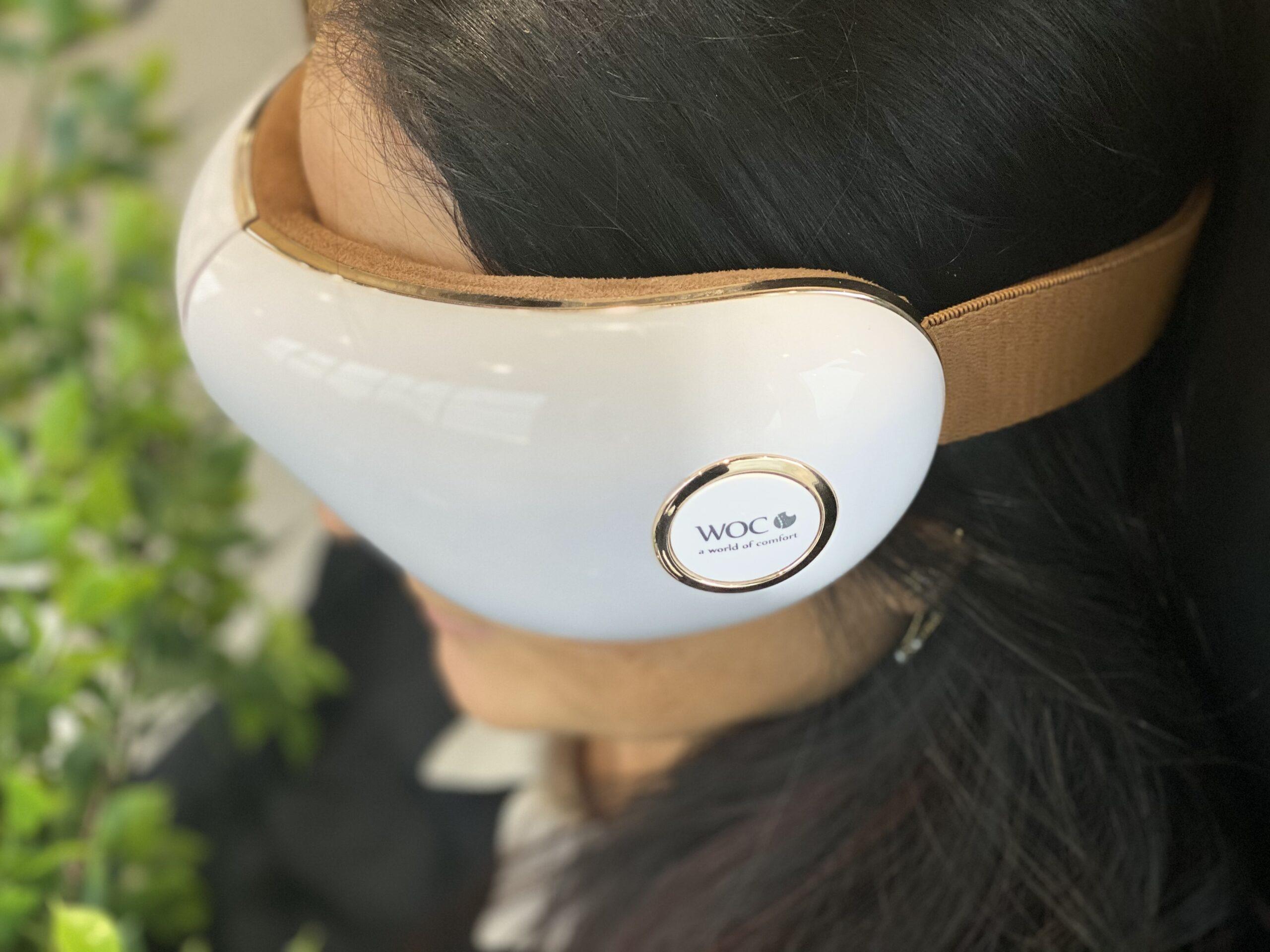 Aurora øjenmassage med lufttryk, varme og musik