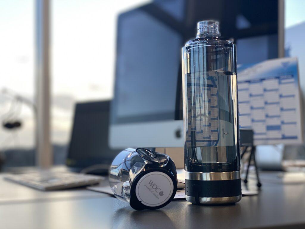 Hydrogen vandflaske Hydrogen waterbottle for better health