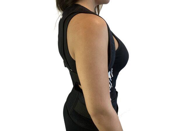 Holdningskorrigerende lænd og rygstøtte sider