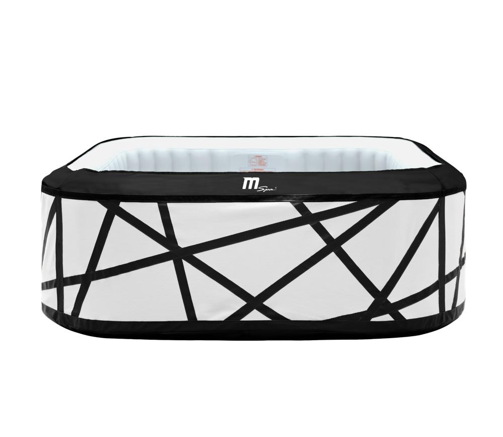 MSpa superspa i sort og hvid design